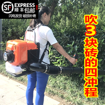 Backpack shed snow blowing machine wind fire extinguishing machine forest fire blower road gasoline hair dryer