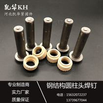 Steel structure cylindrical head welding nail bolt nailing floor plate shear Bridge Nail GB10433M13M16M19M22M25