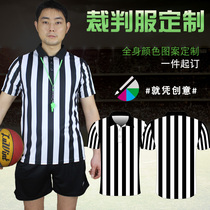 Basketball referees full-body custom summer mens and womens basketball match referees short-sleeved football referees can print the number
