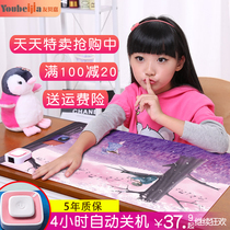Computer warm hand Desktop office heating mouse Super hot heating table pad writing Electric Plate female