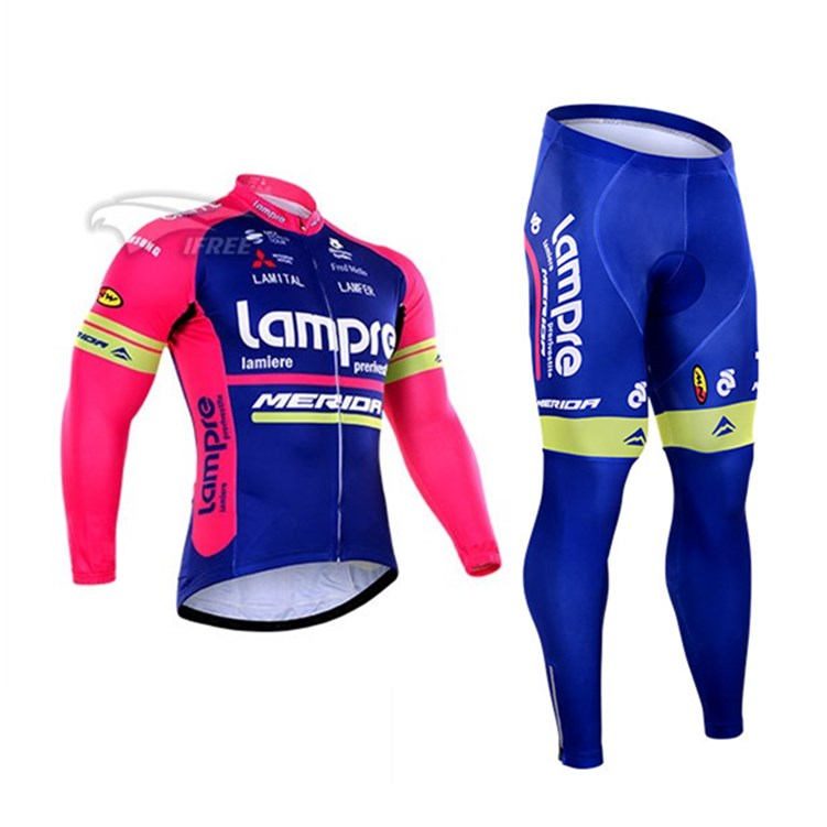 Ring France blue wave Merida cycling suit long short sleeve suit team version cycling equipment quick drying top pants customization