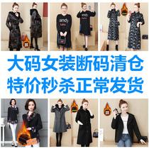 День доставки зазор плюс размер женская толстая сестра осень и зима платье костюм низ рубашки с длинным рукавом