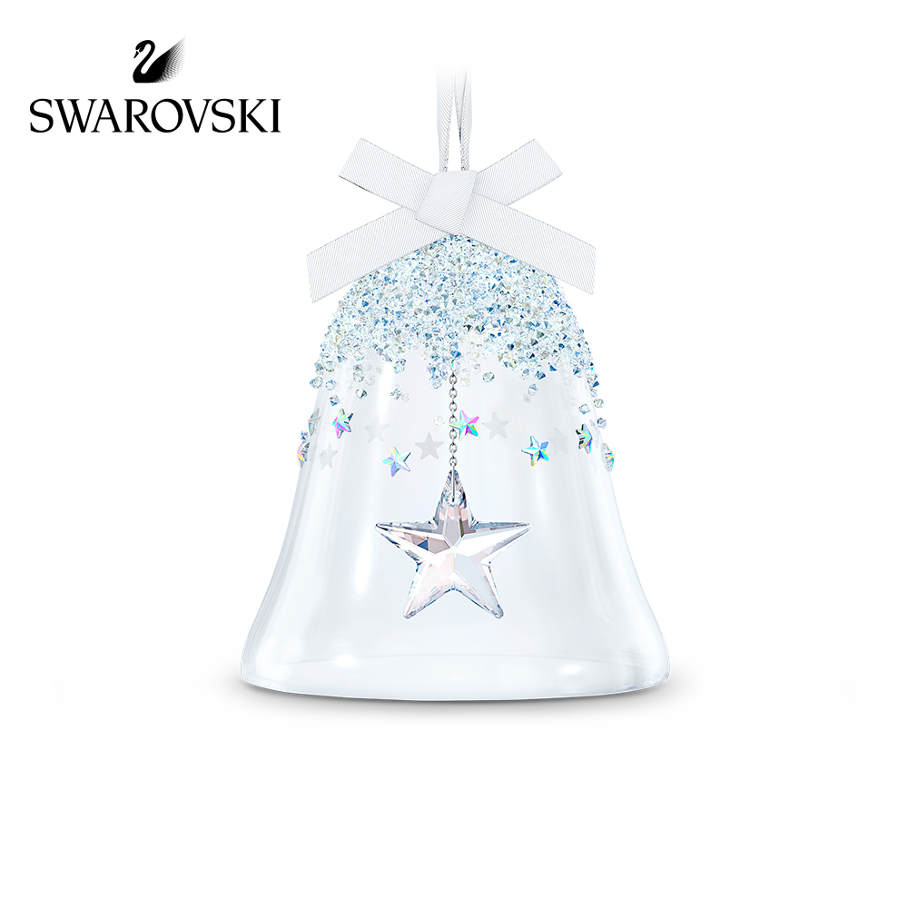 (New product) SwaroschCLASSIC ORNAMENTS Star Dazzling Bell (large) ornament