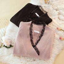 Soeur fat automne Voir la maigre pull en tricot