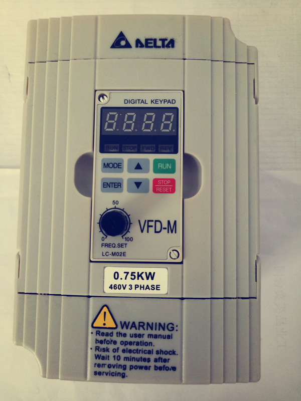 Delta Inverter VFD007M43B 0.75KW three-phase 380V new original quality guarantee for one year.