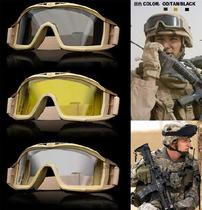 Special forces anti-wind and sand goggles military fans cs field riding bulletproof explosion-proof shooting goggles containing protective mirror sleeve