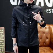 2017 men fall outerwear trend of Korean new men's spring and autumn winter jacket with male cashmere thickened male clothes