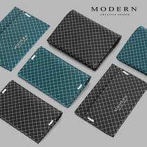 German modern shielding card pack small wallet man ultra thin Money clip Black technology NFC anti-theft brush anti-elimination magnetic card set