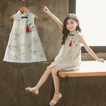 Девушка ребенка платье принцессы