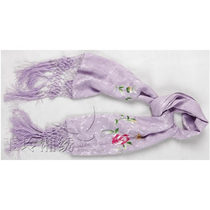 Yuling Xiangxiu Water lily belt whiskers scarf
