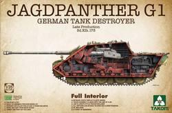 三花 2106 1/35 德国 猎豹 坦克歼击车G1后期型 全内构