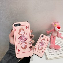 Cute Cartoon Silica Box Q Mobile Shell Opr17 Poker Card Opr15 Full Edge Soft Shell r11s Male