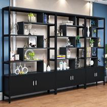 Bureau vitrine étagère présentoir conteneur partition Produits Thé cabinet présentoir cosmétiques Salon vitrine