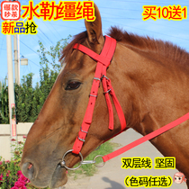 Sule reins Hook buckle horse chewing full set of horse size dwarf bridle 10 send 1 new special Offer