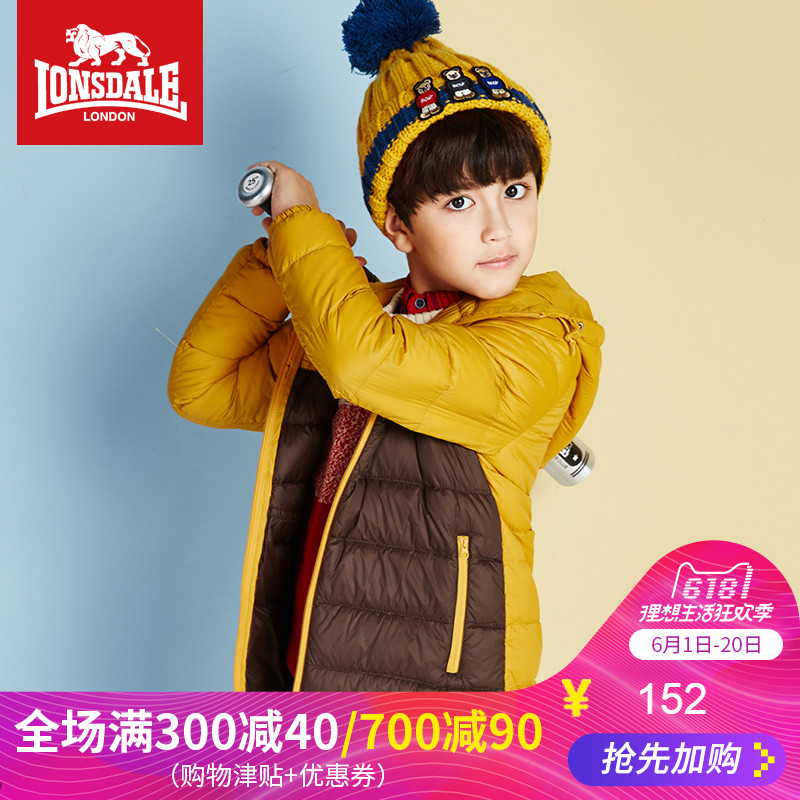 Dragon and Lion Dell Children's Clothes Autumn and Winter New Kids'Down Dress