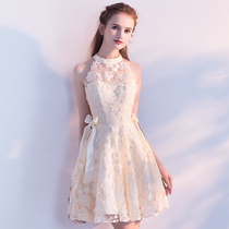 Summer fashion banquet party hanging small dress
