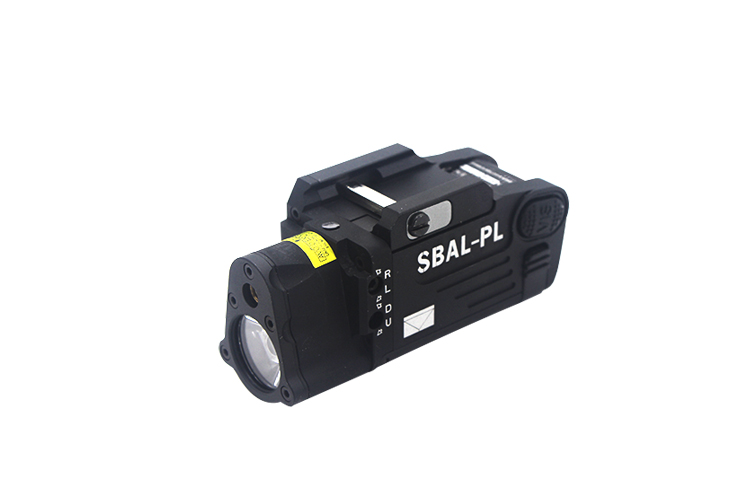 SBAL-PL tactical flashlight LED glare flash + red laser SBAL-PL tactical flashlight tactical helmet light