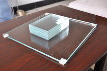 Custom-made ultra-white tempered glass countertop desktop round Table table glass round shaped