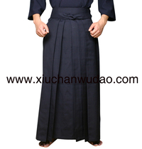 A primer on the special T C Kendo hakama for the study of Zen Wu props recommended on the sword Road of the Japanese sword road pants skirt
