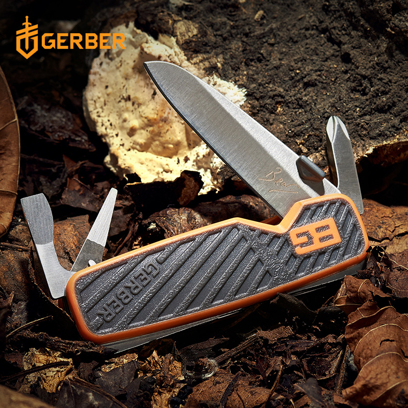 United States Gebo GERBER Bell outdoor multi-function portable tool mini pocket tool 31-001050