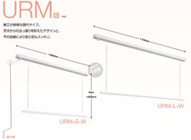 Japan Sourcing Cks Technology research embedded hidden external type indoor single-pole hand lifting clothes rack