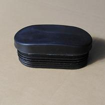 Plastic oval plug tube plug foot pad jacket plug head stuffed fitness equipment special accessories tube cap