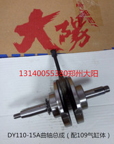 Dayang Motorcycle DY110-2E-2F 110-15A 110-20A-28A crankshaft connecting rod matching 109 cylinder block