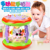 Baby Hand Pat Kids early teach puzzle 1 year old music Pat Drum rechargeable 0-6-12 months Baby Toys 3
