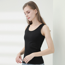2-piece cotton camisole female bottoming slim wild shirt 2020 spring and summer new knitted inner ride sleeveless T-shirt