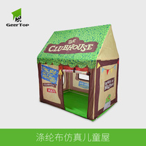 Oversized outdoor indoor toy house Baby family childrens tent home game House 3-year-old boys and girls double