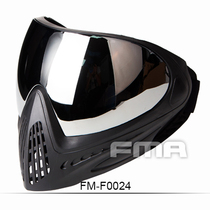 FMA New F1 single-layer color single outdoor mask CS mask dustproof anti-fog protection lens goggles spot