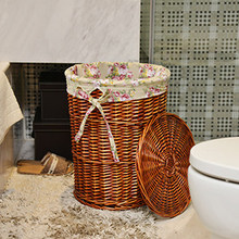 Hotel towel box box bathroom linen room laundry laundry basket basket storage basket bamboo horn