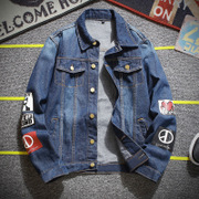 In the autumn of 2017 new autumn casual denim jacket men's slim handsome and trend of Korean men's jackets