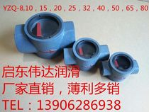 Kaidong lubrication equipment production oil flow indicator YZQ-8101520253240506580