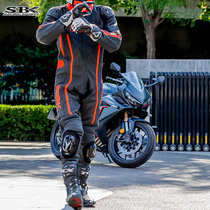 SBK racing suit jumpsuit leather motorcycle riding mens motorcycle suit womens four seasons breathable body repair track dedicated