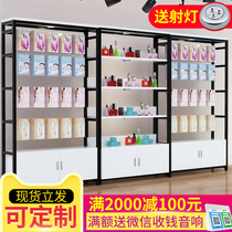 Product display cabinet cosmetics racks jewelry shelves mobile phone accessories display stand hand-made showcase partition cabinet