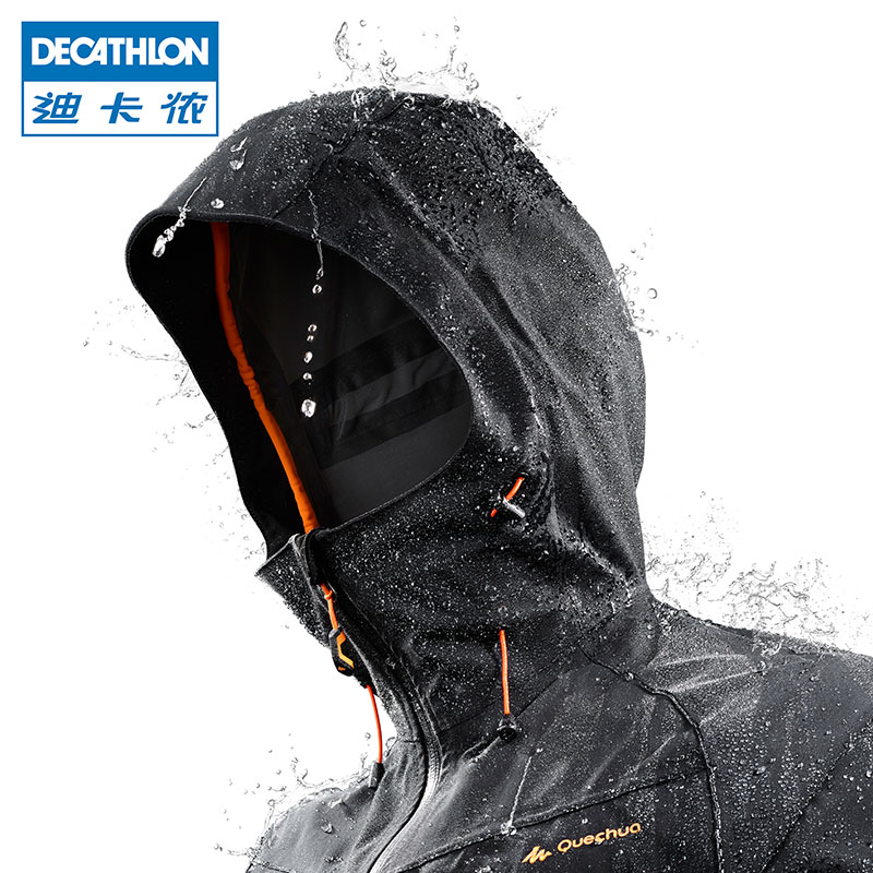 Decathlon Jackets men and women outdoor windproof waterproof breathable jacket Mountaineering clothing spring and autumn QUMH