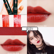ARITAUM color live tint shipping amore love Lip Glaze Gloss Lipstick red maple leaf pumpkin
