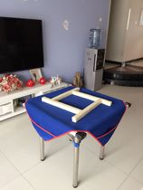 Thickened mahjong tablecloth with pocket mahjong tablecloth pad Home Mahjong table pad Mahjong cloth tablecloth muffler mat tablecloth