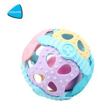 Soft Plastic Baby Grasping Bell Ball 1-12m Baby Toys