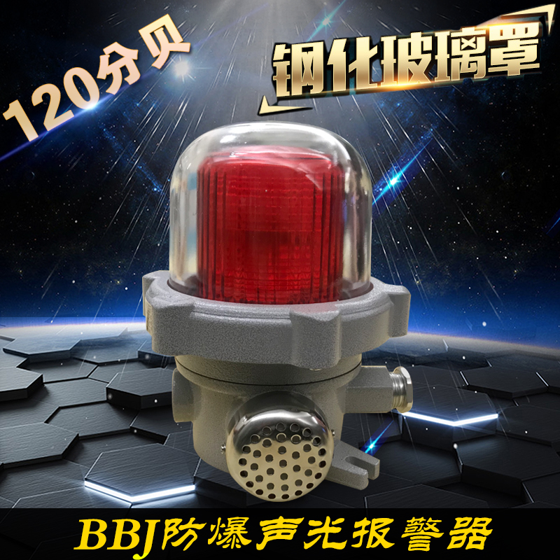 Packaging/Explosion-proof LED Alarm/BBJ-220V/24V Explosion-proof Acousto-optic Alarm/Explosion-proof LED Alarm Lamp