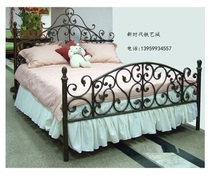 European-style iron bed iron bed princess bed childrens bed pastoral 1 21 5 1 8 single double iron bed special