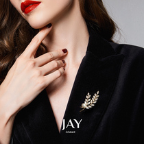 JAY ladies brooch high-end womens exquisite summer niche corsage 2021 New Tide suit pin accessories