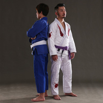 FLUORY gladiator Brazilian judo uniforms Tricolor boys and girls train BJJ GI