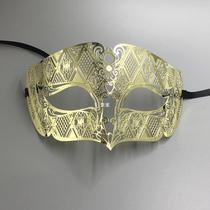 Luxury Male Metal Filigree Laser cut men Venetian Masquerade