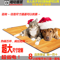 Pet dog Electric Blanket large cat with heating pad Baby thermostat plate heater anti-bite kennel in winter to keep warm