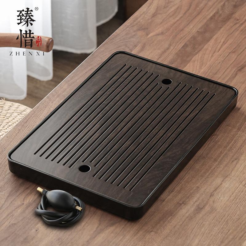The modern minimalist tea tray home office will be living room kung fu tea set size tea table tray