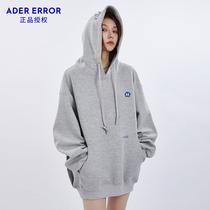 ADER ERROR sweater hooded men and women loose Korean version 2021 New Autumn Tide brand Yi Yan Qianxi coat