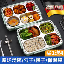 304 stainless steel insulation lunch box office workers divide the lunch box set childrens primary school portable separation type of easy.