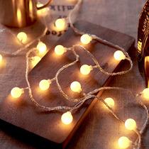 Star light string Small color light flash light string light starry bedroom net red light decoration Room decoration Christmas New Year decoration